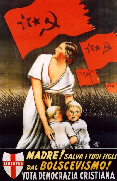 Madre! Salva i tuoi figli dal bolscevismo!