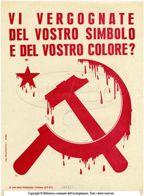 Vi vergognate del vostro simbolo e del vostro colore?