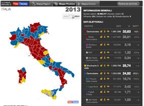 Mappa interattiva 1948-2013