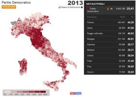 bersani italia 2013 LItalia tripolare (ovvero nel Paese dei ciechi lorbo è re): analisi sul voto del 24 25 febbraio