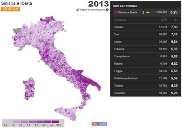 sel italia 2013 LItalia tripolare (ovvero nel Paese dei ciechi lorbo è re): analisi sul voto del 24 25 febbraio