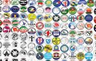 I nomi dei partiti in Italia dal 1948 ad oggi
