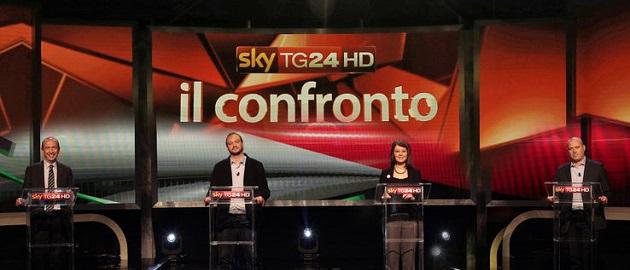 confronto sky tg24 candidati foto Home