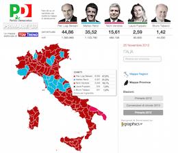 Mappe elettorali interattive
