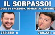 Matteo Salvini: più tv, più consenso. E i like?