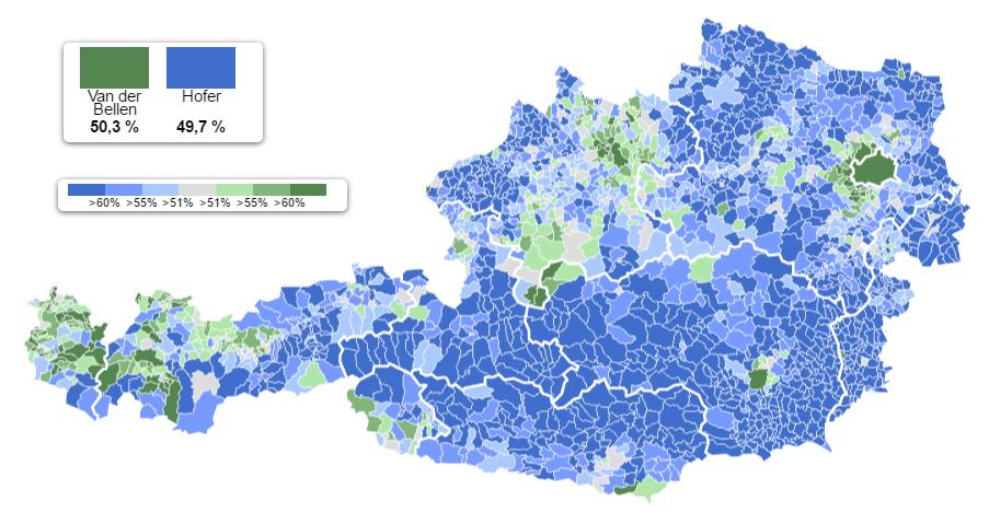 austria Per un pugno di voti: Presidenziali Austria 2016