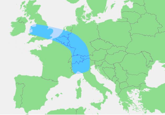 Blaue banane 630x439 PIL, competitività regionale e altri indici: la banana blu che diventa melanzana