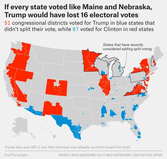 enten virginia 2 Gli Stati (sempre più) Divisi dAmerica