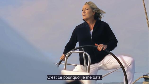 mlp au timon 630x355 Francia: verso una sfida Macron Le Pen?
