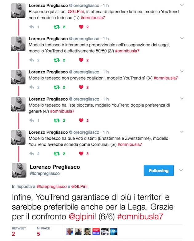 twitter lorepregliasco glpini Supermedia: effetto primarie e Macron, il PD cresce (ma nessuno avrebbe i numeri)