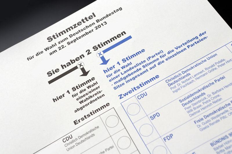 wahlzettel tim reckmann pixeliode Legge elettorale: un pasticcio che garantisce lingovernabilità
