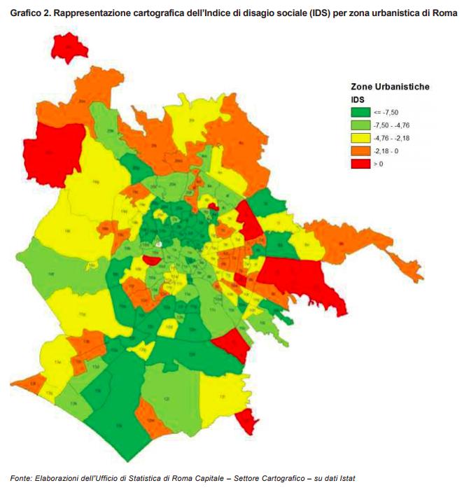 MAPPA IDS FRAZIONI Quanto degrado cè davvero nel municipio di Ostia?