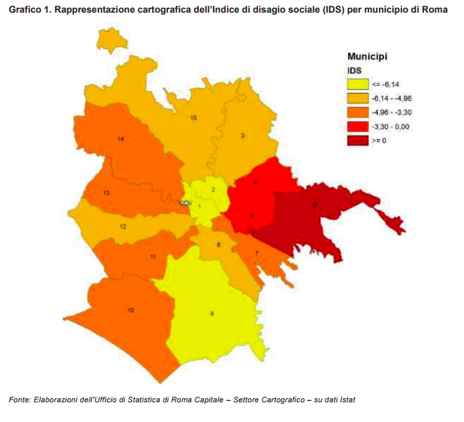 MAPPA IDS MUNICIPI Quanto degrado cè davvero nel municipio di Ostia?