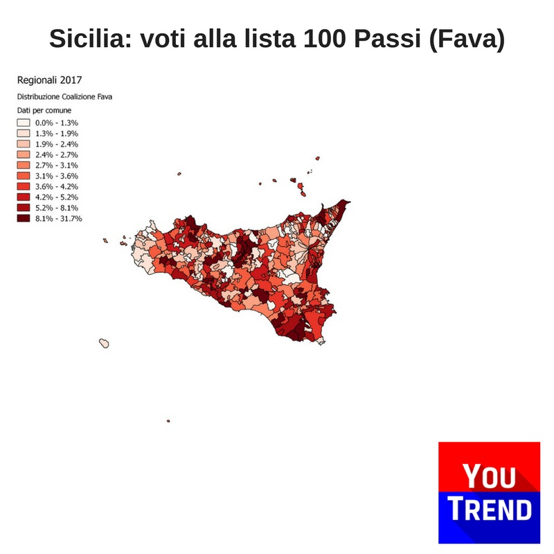 sicilia 100passi fava Cosè successo alle elezioni regionali in Sicilia