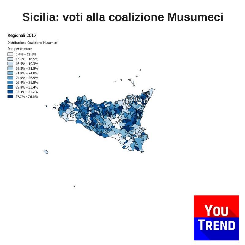 sicilia musumeci Cosè successo alle elezioni regionali in Sicilia
