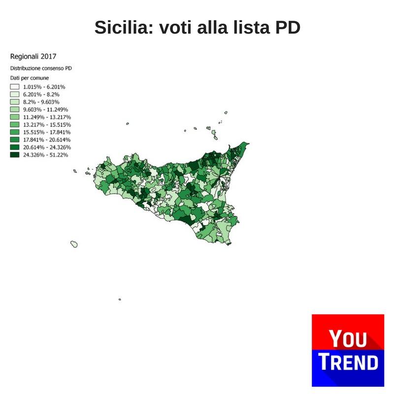 sicilia pd Cosè successo alle elezioni regionali in Sicilia