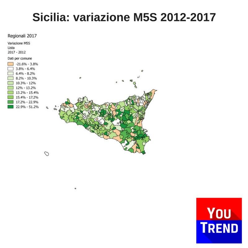 sicilia var m5s Cosè successo alle elezioni regionali in Sicilia