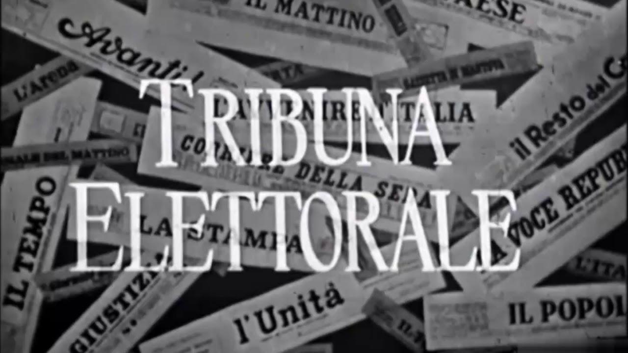 Tribuna Elettorale Elezioni che hanno fatto la storia: il 1963