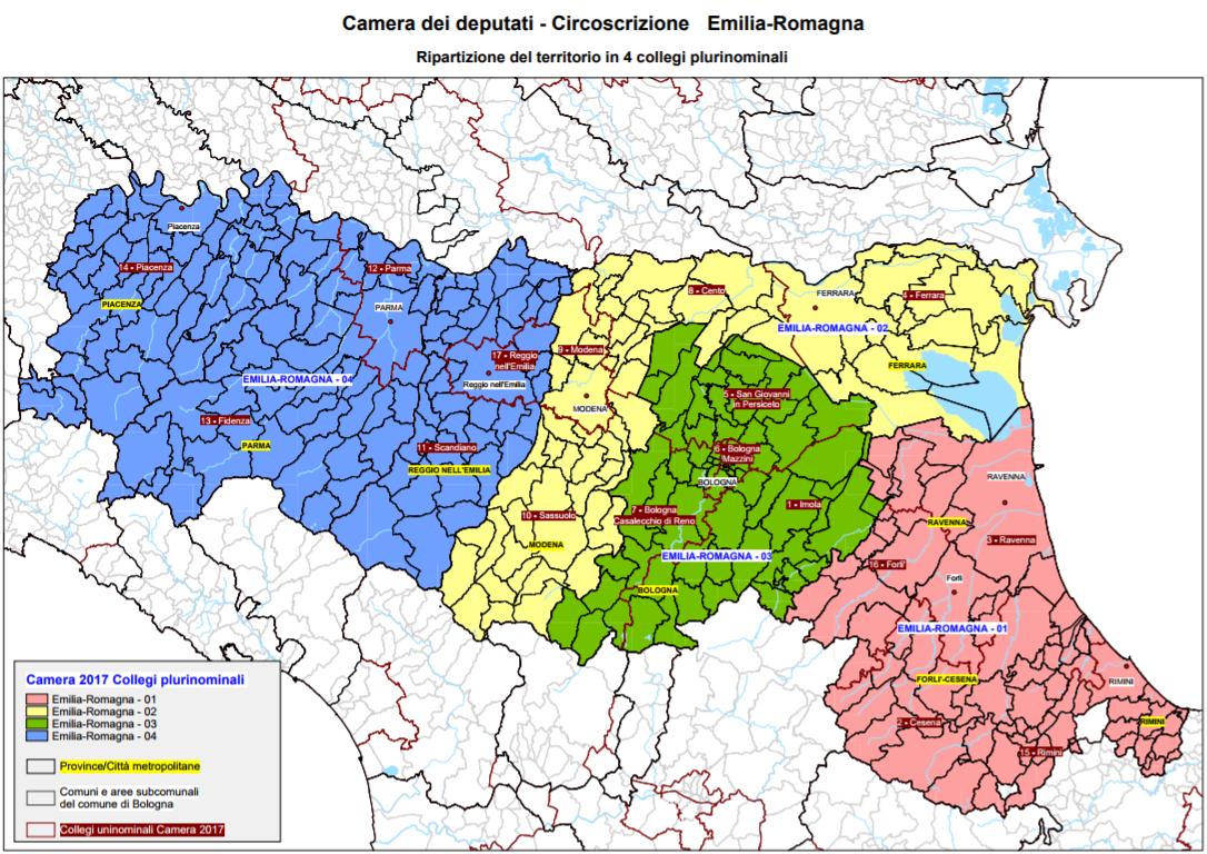 L 39 emilia romagna verso il voto youtrend for Sito della camera dei deputati
