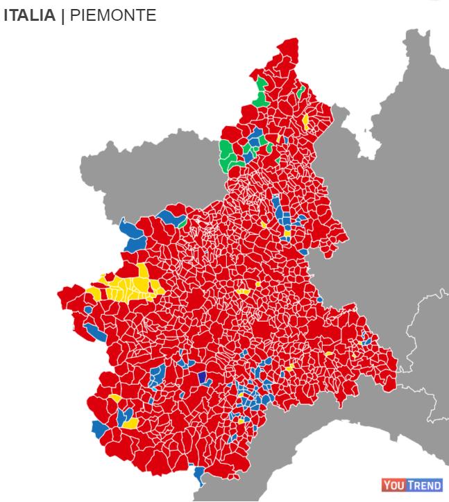 poleur Il Piemonte verso il voto