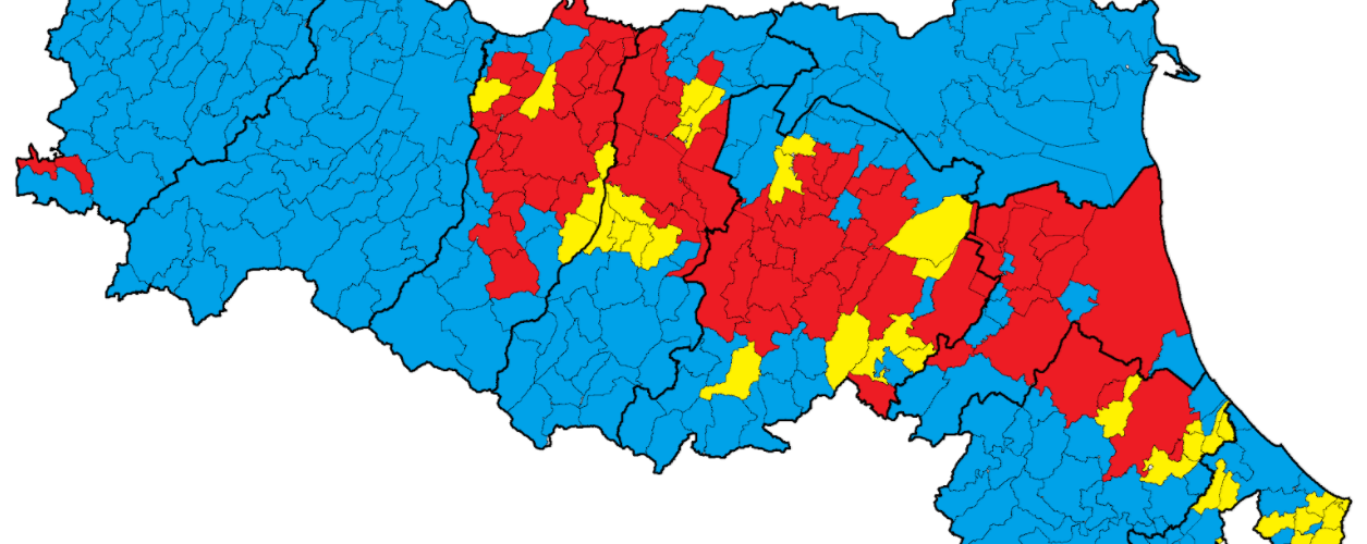 Cartina Dell Emilia Romagna Politica.Addio All Emilia Romagna Rossa Youtrend