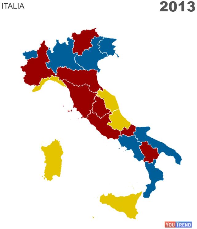 1 4 Addio zone rosse: il centrosinistra si rinchiude nei centri urbani