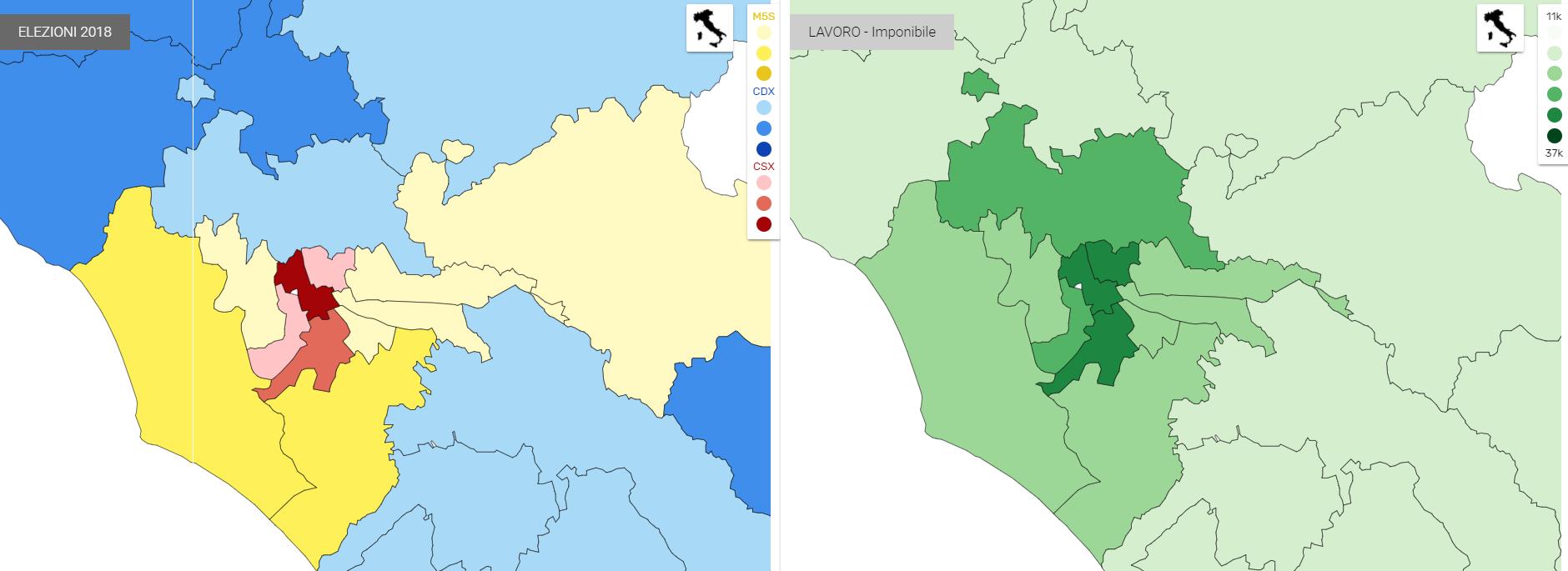 1 5 Addio zone rosse: il centrosinistra si rinchiude nei centri urbani