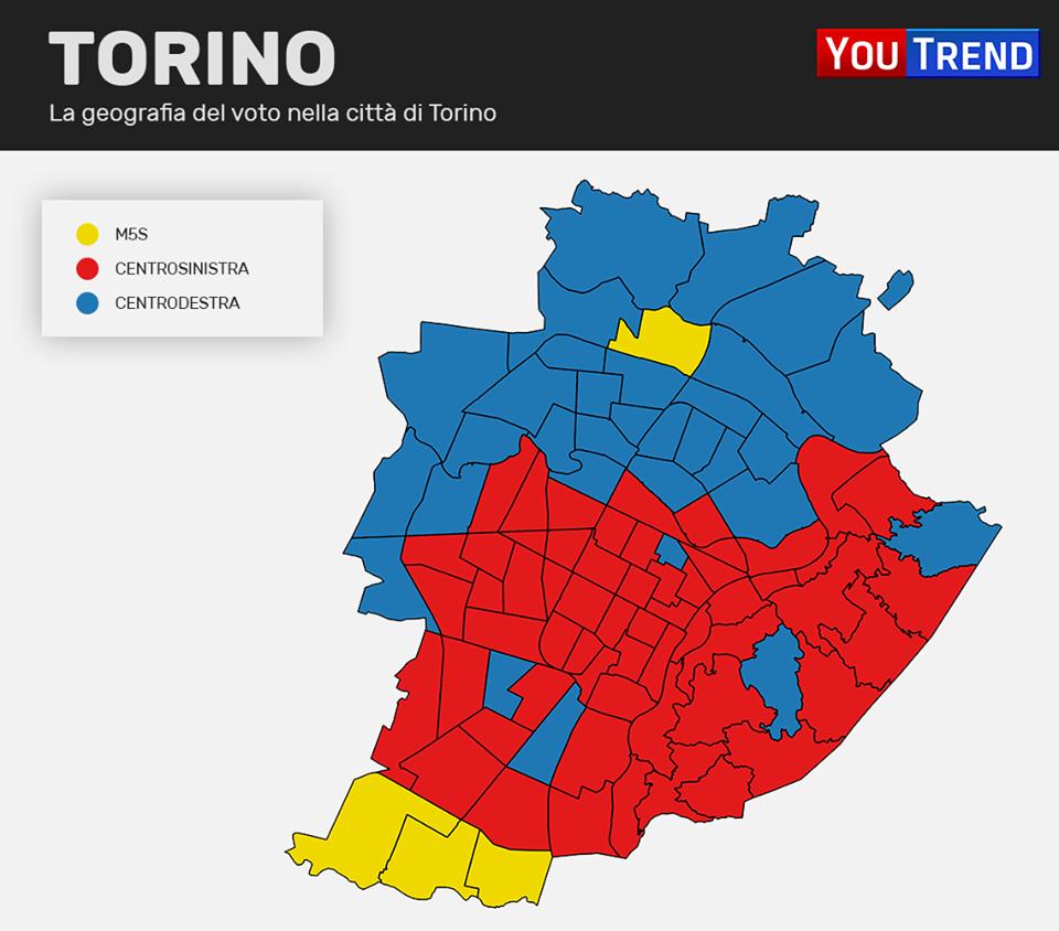1 7 Addio zone rosse: il centrosinistra si rinchiude nei centri urbani