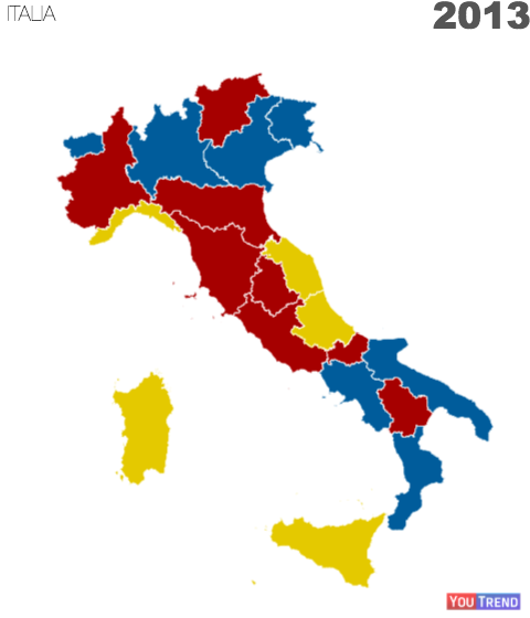 2013 regCam La nuova geografia politica dellItalia
