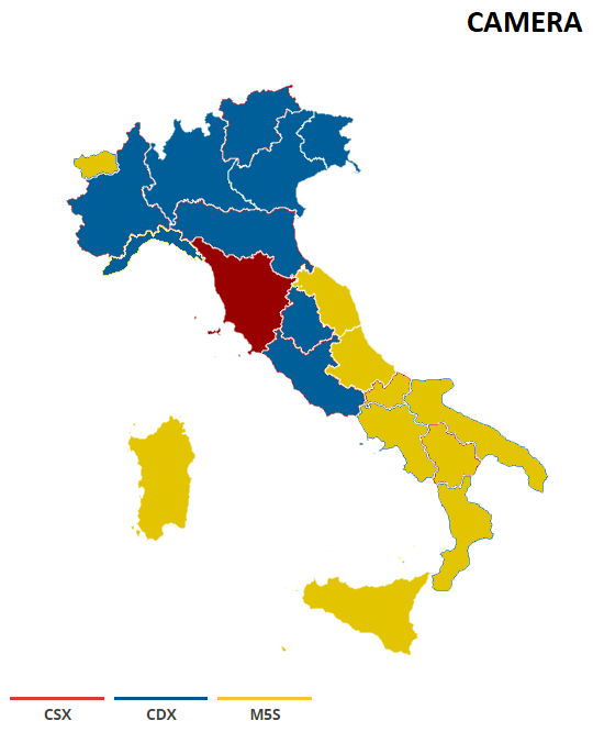 CAMERA REGIONI La nuova geografia politica dellItalia