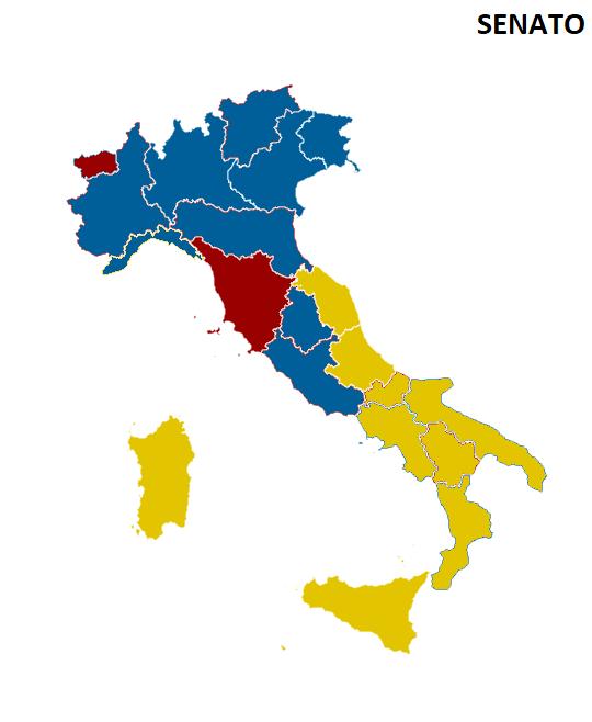 SENATO REGIONI La nuova geografia politica dellItalia