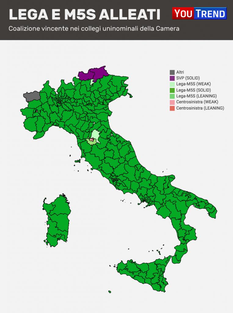Lega M5S Simulazione Elezioni