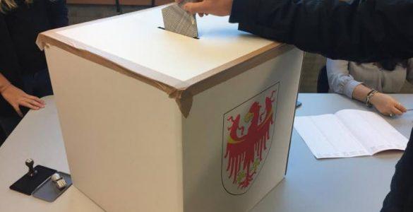 Elezioni Trentino Alto ADige