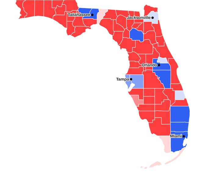 Florida, voti