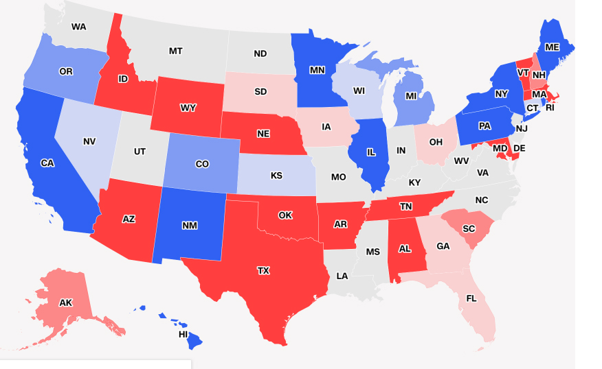 risultati midterm governatori Camera ai Democratici, ma i Repubblicani reggono