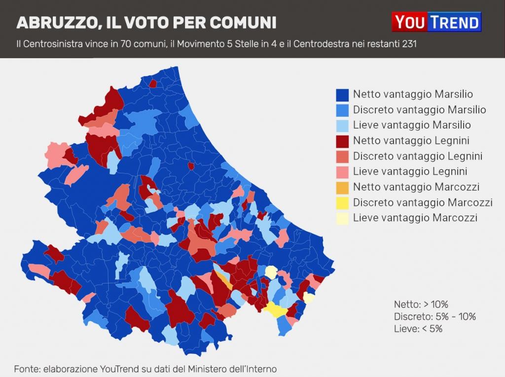 Voto Abruzzo