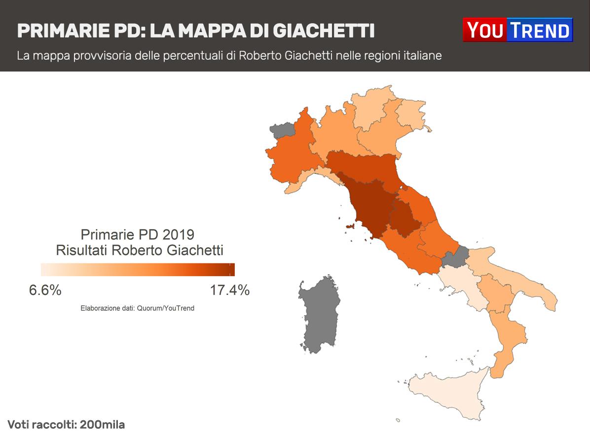 Roberto Giachetti Mappa