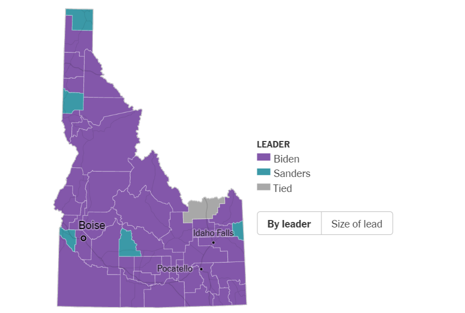 Primarie USA Idaho