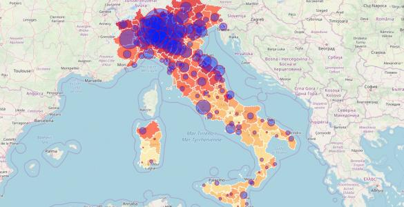 mappe coronavirus
