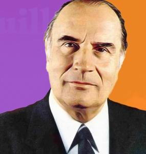 Copertina Mitterrand