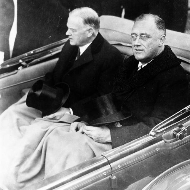 Roosevelt e Hoover