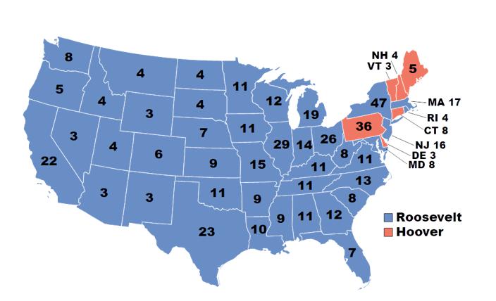 Elezioni 1932 USA