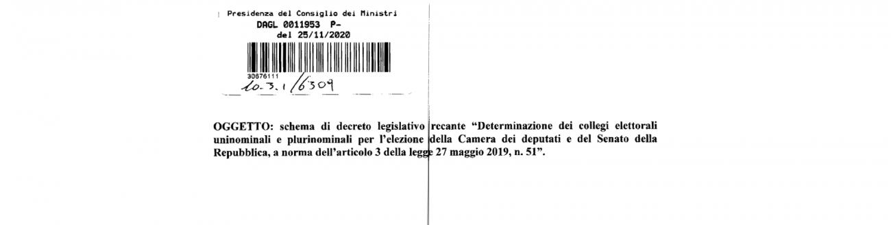 Decreto Collegi