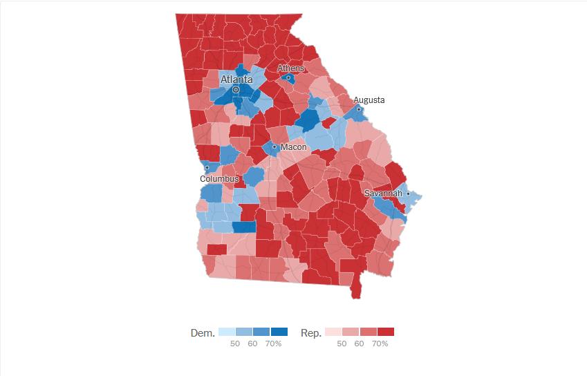 Elezioni Usa, doppietta in Georgia: ai dem il controllo del Senato