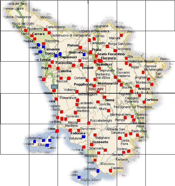 Cartina Toscana Dettagliata.Mappe Elettorali Elezioni Politiche 2008 Youtrend